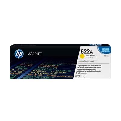HP 822A Toner Yellow für Color LaserJet 9500 C8552A