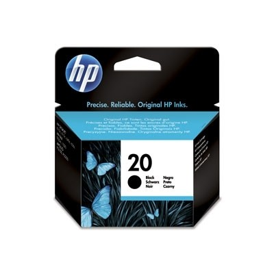 HP 20 Tinte schwarz C6614DE für Deskjet 3920V 610C 612C 615C