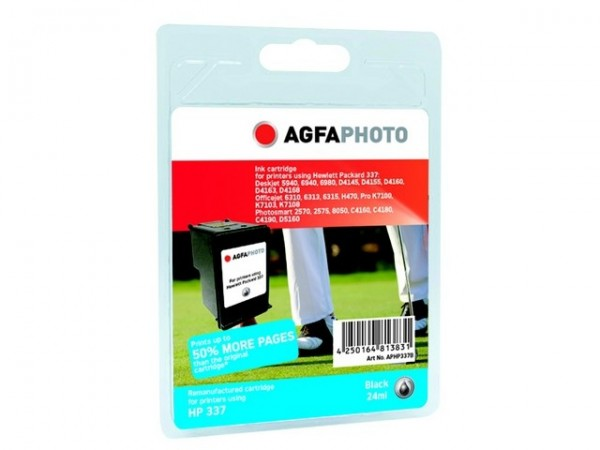 AGFAPHOTO HP337B HP PS8750 Tinte Black