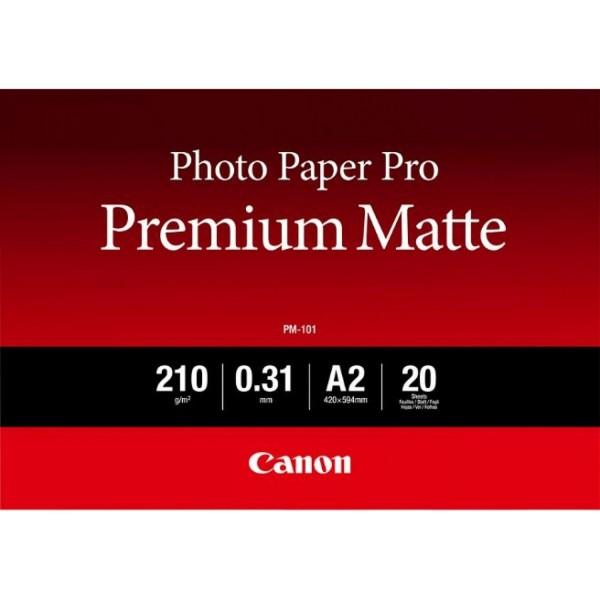 Canon PM-101 Fotopapier Pro Premium matt A2 20 Blatt 8657B017