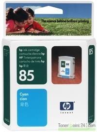 HP 85 Tintenpatrone Cyan für DesignJet 30 DJ130