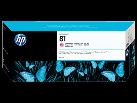 HP 81 Plotter Tinte Magenta hell C4935A HP DesignJet 5000 DJ5500 Serie