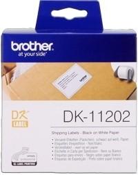 Brother Versand-Etiketten DK-11202 endlos 62x100mm weiß