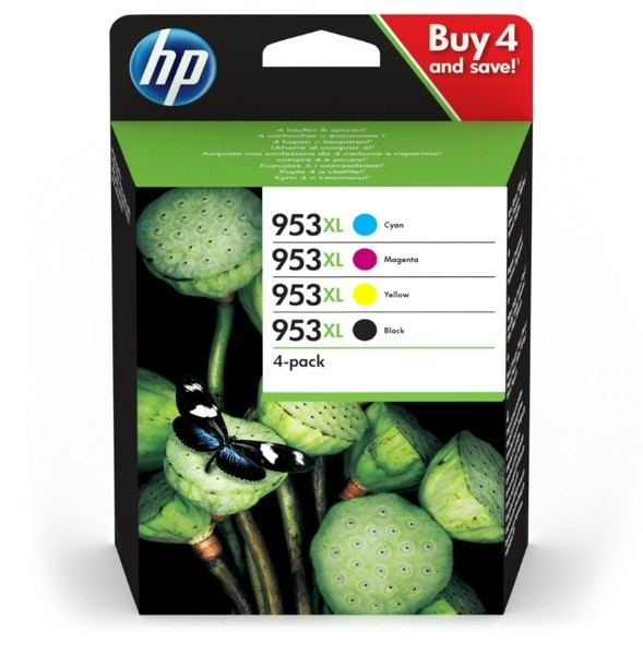 HP 953XL Multipack 3HZ52AE HP Officejet Pro 7720 7730 7740 8710 8715 8718 8720 8725 8730 8740