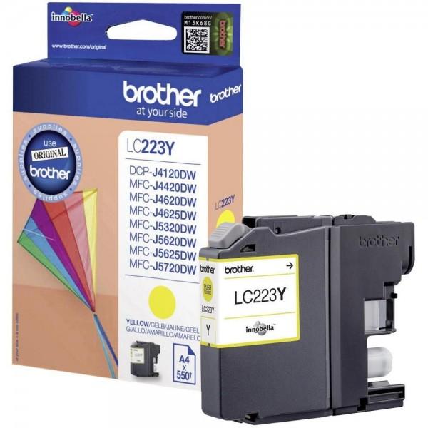 Brother LC-223Y Tinte Yellow Original MFC-J4620DW J4625DW J5620DW MFC-J5720DW