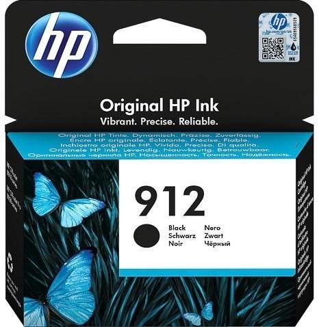 HP 912 Tintenpatrone schwarz 3YL80AE für OfficeJet 8012 8014 8015 Officejet Pro 8022 8024 8025 8035