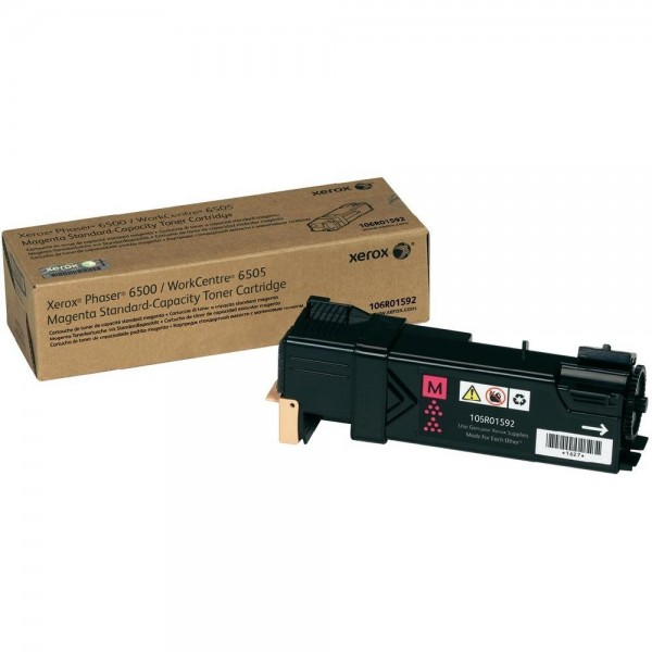 XEROX Toner Magenta für PH6500 Workcentre WC6505 Phaser 6500 106R01592