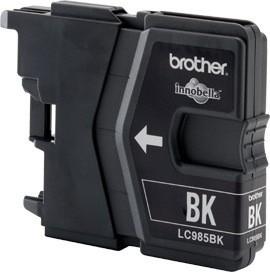 Brother Tintenpatrone Schwarz Doppelpack LC985BKBP2DR DCP-J125 DCP-J140 DCP-J315