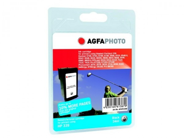 AGFAPHOTO HP339B HP PS2610 Tinte Black