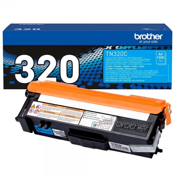 Brother Toner Cyan TN-320C für DCP-9270 DCP-9055 HL-4140 HL-4150 MFC-9460