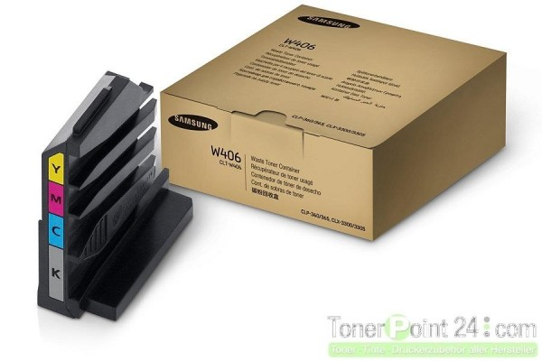 Samsung Resttonerbehälter CLP360 CLP365 CLX3300 CLX3305 CLT-W406