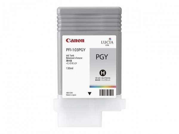 Canon PFI-103PGY Tinte fotograu imagePROGRAF iPF5100 iPF6100 iPF6200 2214B001