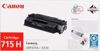 Canon 715H Toner Black 1976B002 i-SENSYS LBP3310 i-SENSYS LBP3370