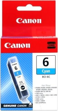 CANON BCI-6C Tinte cyan PIXMA IP3000 IP4000 iP4000R iP5000 iP6000D