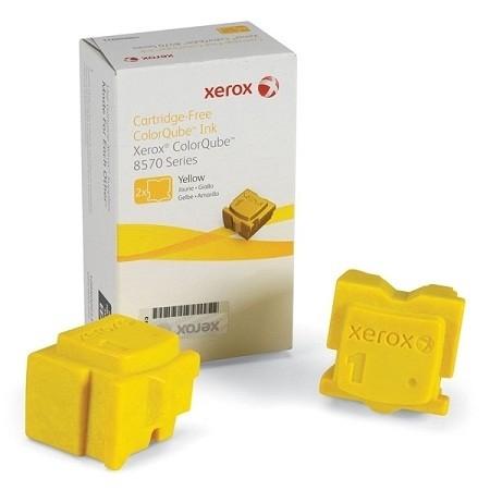 XEROX ColorQube 8570 Festtinte STIX(2) Yellow