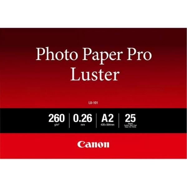 Canon LU-101 Fotopapier Pro Luster A2 25 Blatt