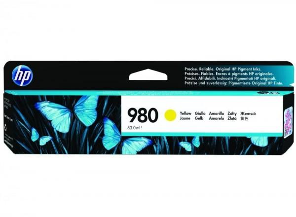 HP 980 Yellow Tinte für HP OfficeJet Pro X555 X585 D8J09A