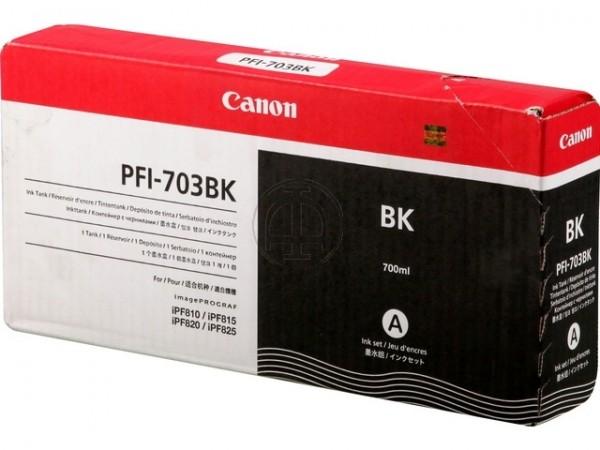 Canon PFI-703BK Black dye 700ml  iPF 810 iPF815 iPF820 iPF825