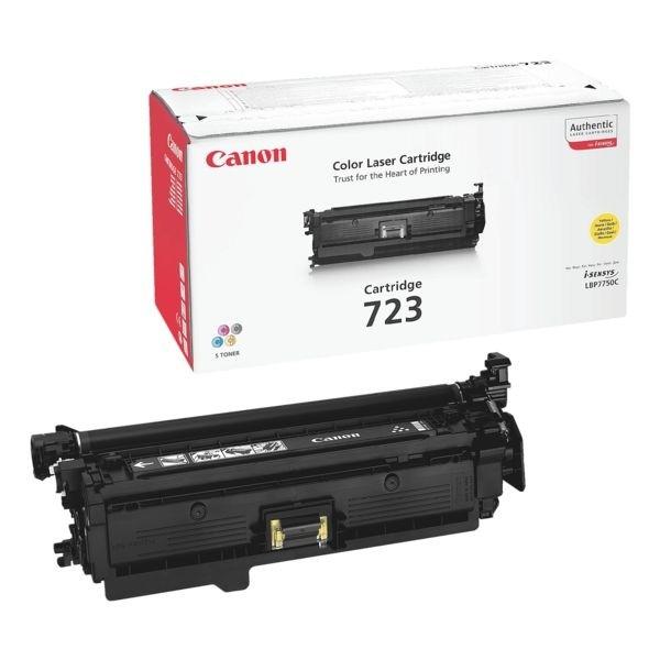 Canon 723 Toner Cartridge Yellow LBP-7750CDN 2641B002