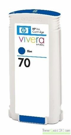 HP 70 Tinte Blau No.70 mit HP Vivera Tinte Z2100 C9458A