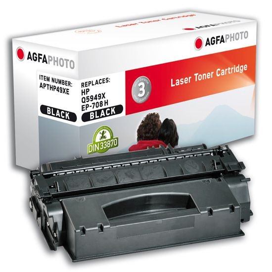 AGFA Photo Toner schwarz HP49XE für HP LaserJet 1160 LaserJet 1320
