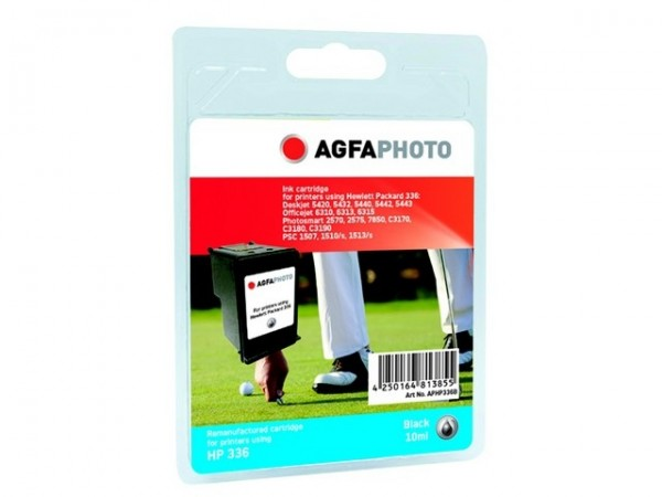 AGFAPHOTO HP336B HP PS8250 Tinte Black