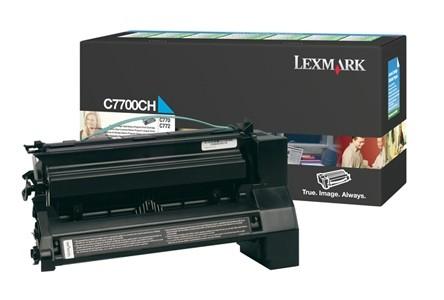 Lexmark C770 C772  X772 Cyan Toner Rückgabe-Tonerkassette