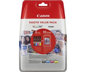 Canon CLI-551XL Tinte Multipack MG5450 MG6350 6300 6500 6600 IP7250 iX6800 iX6850 6443B006