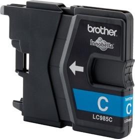 Brother Tintenpatrone Cyan LC985C DCP-J125 DCP-J140 DCP-J315