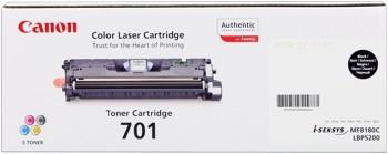 Canon 701 Toner Cartridge Black LBP5200 MF8180 9287A003