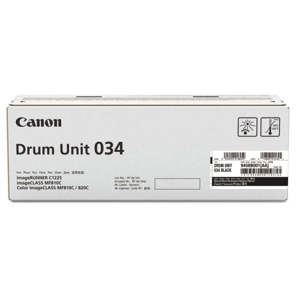 Canon Bildtrommel 034 Black Imageclass MF-810 MF-820 9458B001