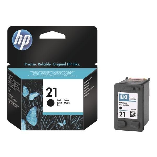 HP 21 Tintenpatrone Black No.21 DJ3910 D1420