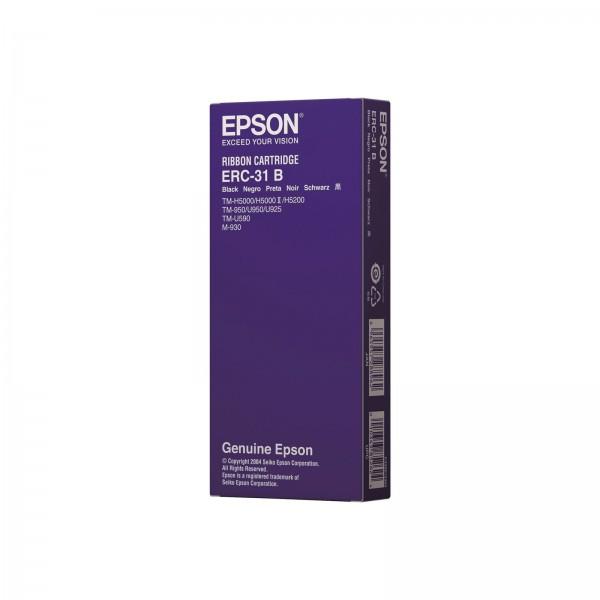 Epson ERC-31B Nylon Farbband TM-H5000/II U930/II U950 U925 U590 SCHWARZ