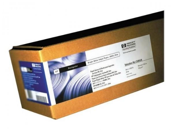"""HP C6035A Rollenpapier hochweiß Bright White Inkjet Paper A1 Breite 24"""""""