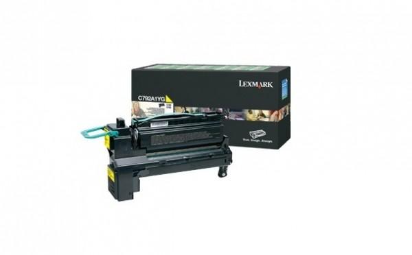 Lexmark C792A1YG Toner Yellow C792 X792 Laufleistung: 6.000 Seiten