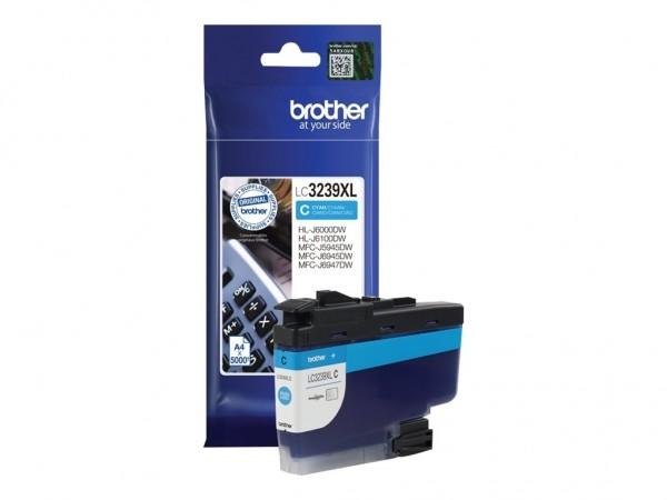 Brother LC-3239XLC Tintenpatrone Cyan für HL-J6000DW MFC-J5945DW MFC-J6945DW MFC-J6947DW
