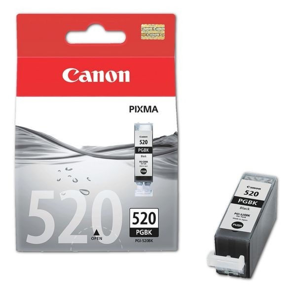 Canon PGI-520BK Tinte Black MP540 iP3600 iP4700 MP550 MP560 MP620 MP640 MX870 2932B001