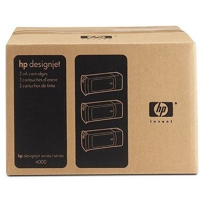 HP 90 Tintenpatronen Cyan 3er Pack für DesignJet 4000 4500 4020 4520