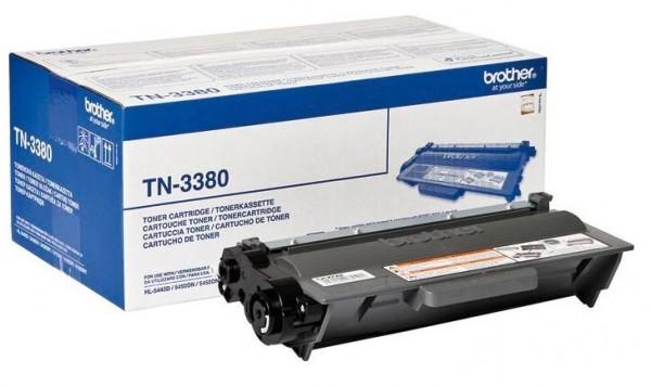 Brother TN-3380 Toner HL-5440 HL-5470 HL-6180 MFC-8510 MFC-8520 MFC-8950