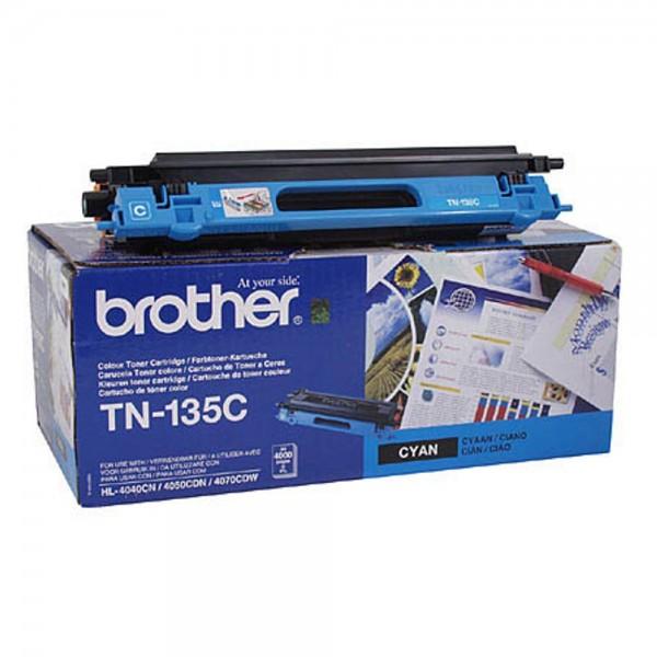 Brother TN-135C Toner Cyan DCP9040CN DCP9045CDN HL4050CDN MFC9440CN