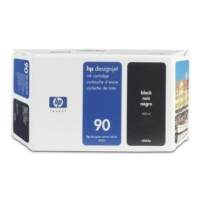 HP 90 Tinte Black 400ml C5058A für DesignJet 4000 4500 4020 4520