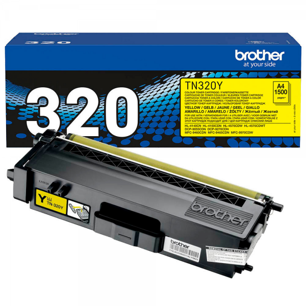 Brother Toner Yellow TN-320Y für DCP-9270 DCP-9055 HL-4140 HL-4150 MFC-9460