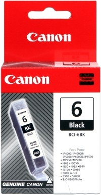 CANON BCI-6BK Black für i560 i865 i905D I950 i965 i9100 i9950