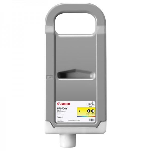 CANON PFI-706Y Tinte Yellow hohe Kapazität iPF8400 iPF9400