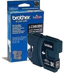 Brother Tintenpatrone Schwarz LC980BK für DCP145C MFC295C