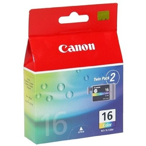 Canon BCI-16 Tinte Color CMY Doppelpack 2er-Pack