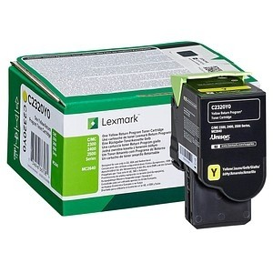 Lexmark Toner yellow C2320Y0 C2325dw C2425dw C2535dw MC2325 MC2425 MC2535 MC2640adwe