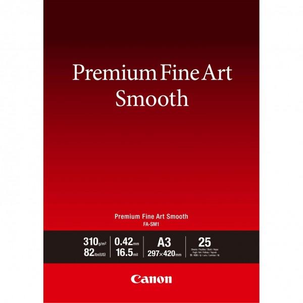 Canon FA-SM1 A3 Fine Art Papier 310 g/m² 25 Blatt