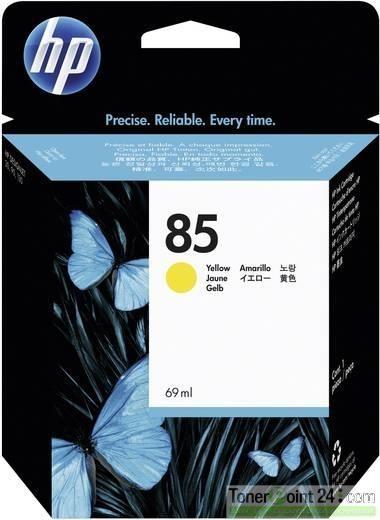 HP 85 Tintenpatrone Gelb für DesignJet 30 130