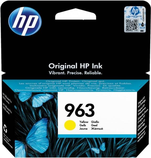 HP 963 Tintenpatrone gelb für OfficeJet Pro 9010 9012 9014 9015 3JA25AE
